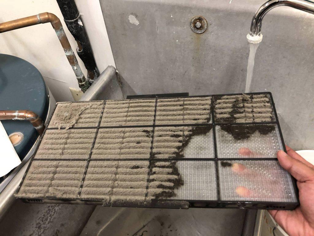 čištění klimatizace